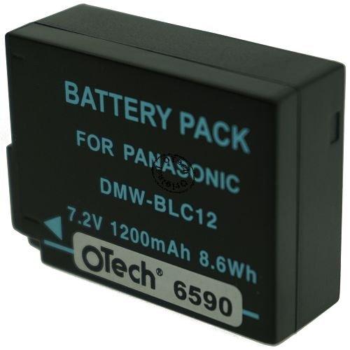 Otech Batterie kompatibel für PANASONIC LUMIX DMC-G6H