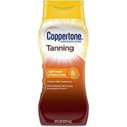 in budget affordable Copatone Sunscreen Lotion Broad Spectrum SPF8 (8 fl oz) (Package may vary)