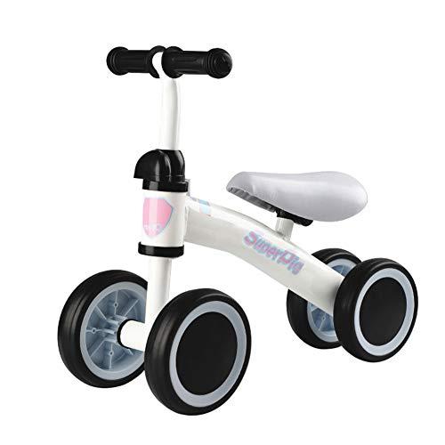 BESTEU Kinder Roller Baby Gleichgewichtstraining Fahrrad Baby Zweirad Fahrrad Walker Roller Ohne Pedal