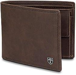 TRAVANDO ® wallet men Madrid RFID wallet men brown wallet wallet wallet large wallet horizontal format men wallet men wallet men wallet wallet gift wallet