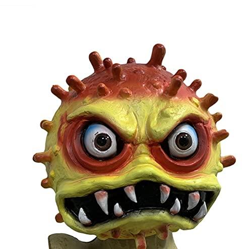 Milu deer Accesorios Propaganda Antiepidémica Máscara Virus Accesorios Carnaval Halloween Accesorios Goma para La Fiesta Halloween (Color : E, Size : One Size)