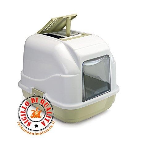 Imac Easy Cat Verde - Toilette Chiusa per Gatti