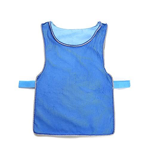 Chaleco de Enfriamiento para Hombre Mujer, Ajustable, Protección contra la insolación de verano Descanso de alta temperatura Ropa deportiva Chaleco