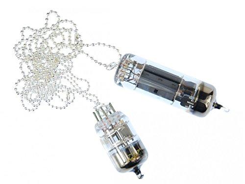 Miniblings Elektronenstrahlröhre Kette Halskette 80cm Röhre TV Fernseher Birne