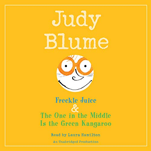 Judy Blume audiobook cover art