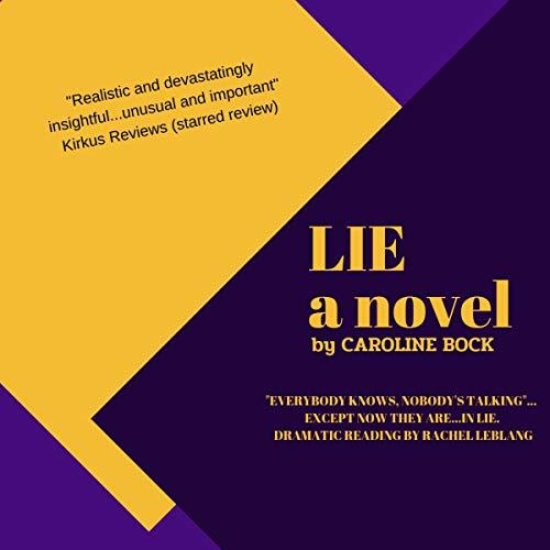 Lie audiobook cover art