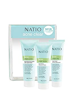Natio Acne Clear 3 Piece Starter Pack (B07Z4T22VM) | Amazon price tracker / tracking, Amazon price history charts, Amazon price watches, Amazon price drop alerts
