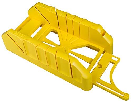 Stanley Gehrungslade Kunststoff (mit Sägefach Befestigungsbohrungen, ABS-Kunststoff, 22.5°/45°/90° Schnittwinkel) 1-19-212