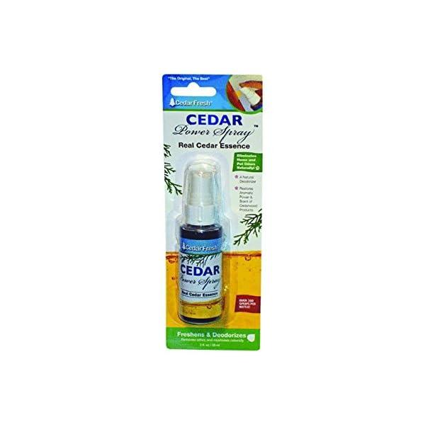 Household Essentials 81702 Cedar Fresh Spray Air Freshener, 2 oz.