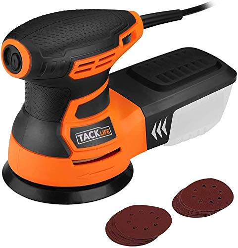 Orbital Sander, TACKLIFE 350W 13000 RPM 125mm Random Orbital...