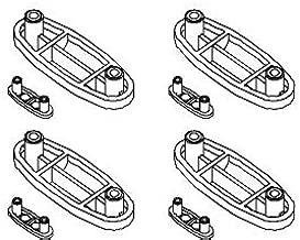 Kohler 55382-0 White Seat Bumper Kit