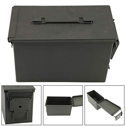 BALLSHOP Munitionskiste Metallkiste US Ammo Box Behälter Aufbewahrungsbox Lagerbox Abschließbar Dichtung