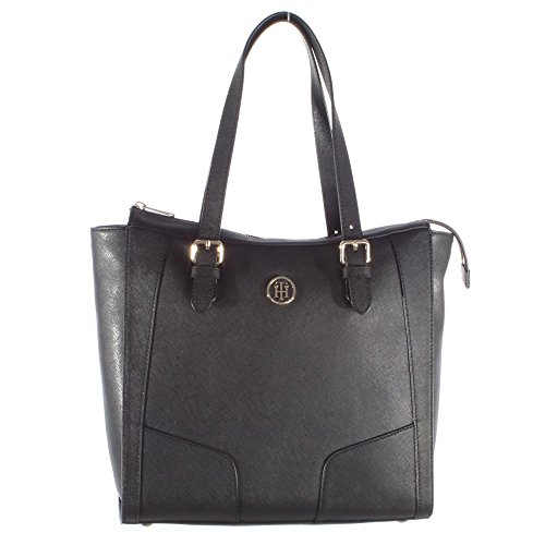 Tommy Hilfiger handtas Miss Tommy Tote 160 AW0AW03429 Black 002 dames tas