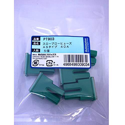 PT903 3047(SBFC-AS)スローブローヒューズ 40A 5個 PT903