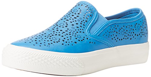 Bucco Women's Idina Slip On Sneaker, Royal Blue, 8.5 M US