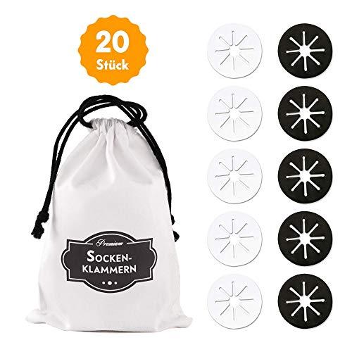 40 Stück Sockensammler für die Waschmaschine aus Silikon Sockensortierer 8
