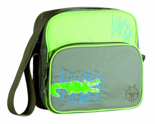 Lässig Mini Square Bag Kindergartentasche, Crocodile granny