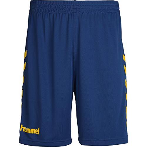 Hummel Kinder Short Core Poly Shorts 111083 True Blue/Sports Yellow2 164-176