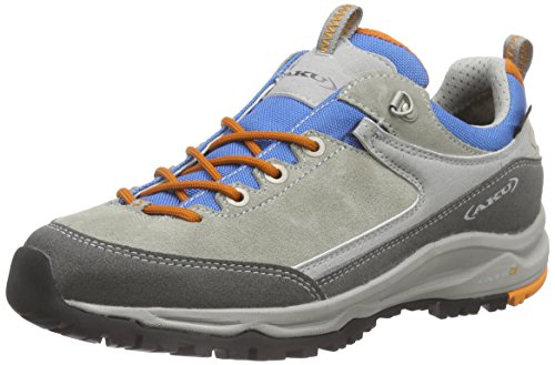 AKU Damen GEA Low GTX WS Trekking- & Wanderhalbschuhe, Grau (Grey/Light Blue), 36