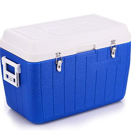 AGQLT Koelbox Outdoor Fresh Box 50L Auto PU Koelbox Medische Drug Koelkast Koude Ketting Transport Box 66 * 35 * 45CM