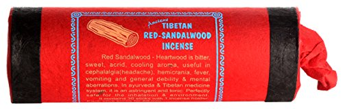 BUDDHAFIGUREN Incienso Tibetano - Sándalo Rojo