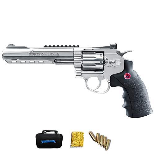 RUGER SUPERHAWK CHROME 6″ | Pack Pistola balines