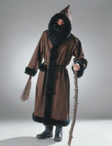 Herren Kostüm Knecht Ruprecht Mantel mit Kordel
