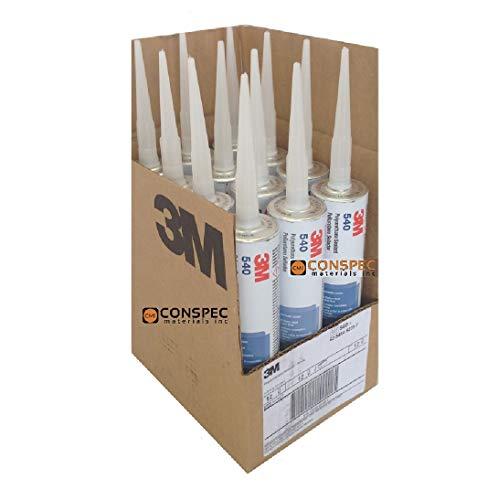 3M 540 Polyurethane Sealant Adhesive White Marine Grade 10.5 oz Cartridge (CASE of 12)
