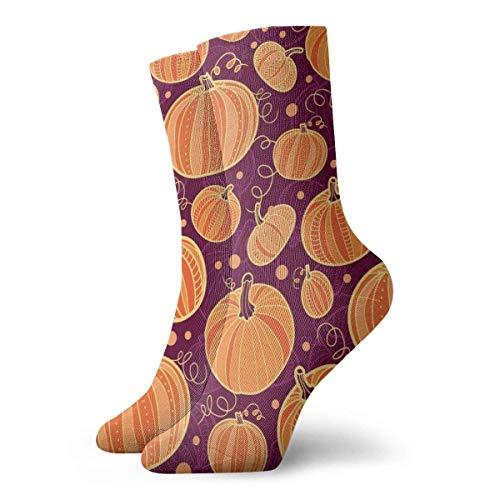 wu Happy Thanksgiving Day Athletic Socken, Unisex Mid-Calf Socken Knöchel Socken