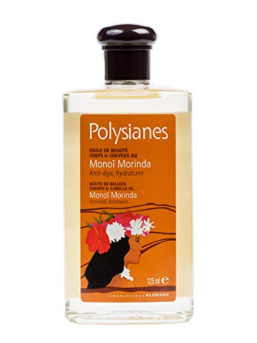 KLORANE Polysianes Monoi Morinda Cuerpo y Cabello 125 ml, Negro (1756206)