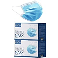 100-Pack Gleeporte 3-Ply Disposable Effective Filtration Face Mask