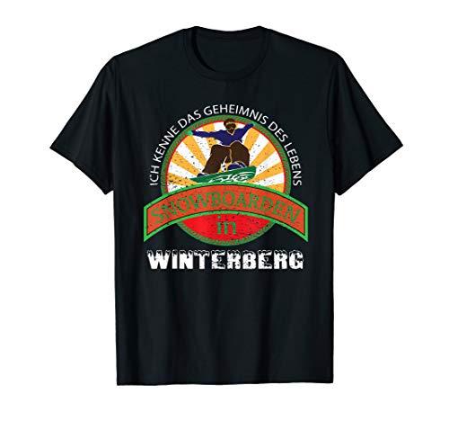 SNOWBOARDING Geschenk Für Snowboarder Aus Winterberg T-Shirt