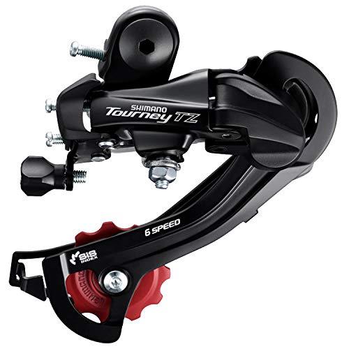 Fahrrad Schaltwerk Shimano Tourney RD-TZ 50 Rahmenbefestigung 6-Fach
