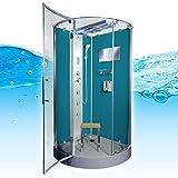 AcquaVapore DTP6037-4100 Dusche Duschtempel Komplett Duschkabine 100×100, EasyClean Versiegelung der Scheiben:2K Scheiben Versiegelung +99.-EUR - 3