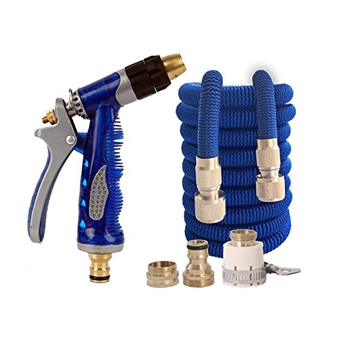 WANGLX Extra Strength Fabric Expandable Durable Garden Water Hose Set Easy Storage Kink Free Water Hose Garden Watering Machine Best Choice for Watering and Washing (Size : B)