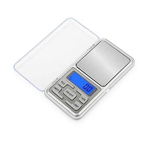 500g x 0,1g / 0,01g Mini balanzas digitales de precisión para balanzas electrónicas de balanza de joyería de plata esterlina de oro 500g_0.01g