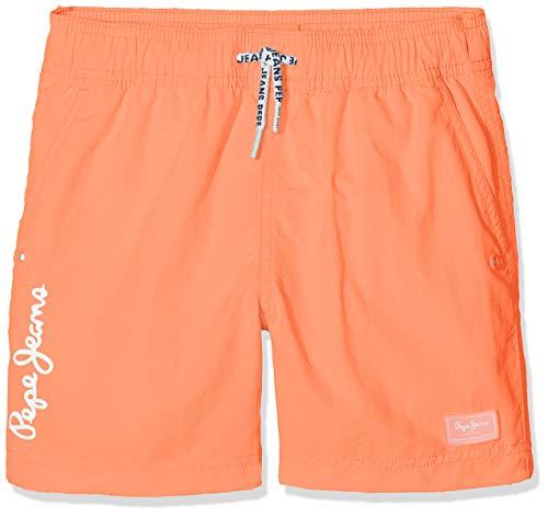 Pepe Jeans Magic Costume da Bagno, Arancione (Sunset Orange 168), 5 Anni (Taglia Produttore: 5) Bambino