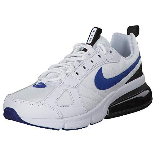 Nike Air Max 270 Futura, Chaussures de Running Homme, Blanc (White/Racer Blue/Black 102), 43 EU
