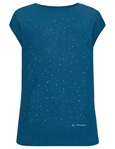 VAUDE Damen T-shirt Tekoa, kingfisher, 38, 409623320380