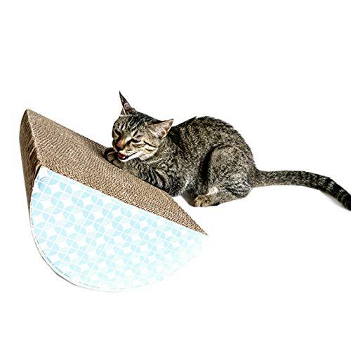 BCCDP Rascador para Gatos de Corrugado Cartón Sofá de Juguete para Gatos Cartón Rascador y Soporte de Descanso Reciclado Tabla Rascadora para Gatos Almohadilla para Rascar Gatos