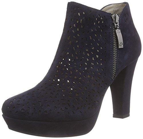 Gerry Weber Shoes Damen Ella 02 Kurzschaft Stiefel, Blau (Night blue-516), 41 EU
