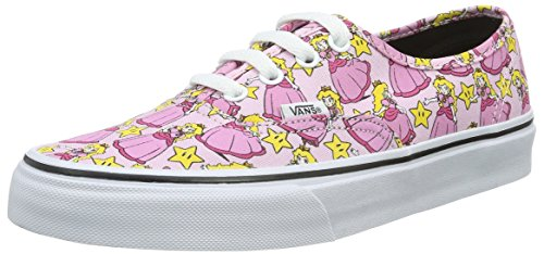 Herren Sneaker Vans Nintendo Authentic Princess Peach Sneakers