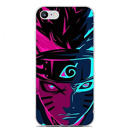 BEMAGIC iPhone 6/6s Plus Case,Flexible Slim Silicone TPU Protector Cover Soft Thin Gel Skin For Apple iPhone 6/6s Plus-Uzumaki Naruto 1