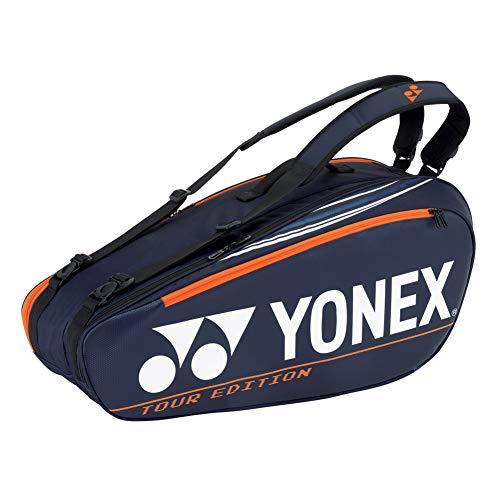 YONEX Pro 6 - Bolsa de tenis para raquetas, color azul marino oscuro