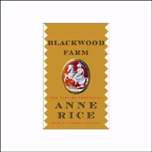 Blackwood Farm audiobook cover art