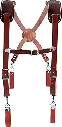 Occidental Leather 5009 Leather Work Suspenders