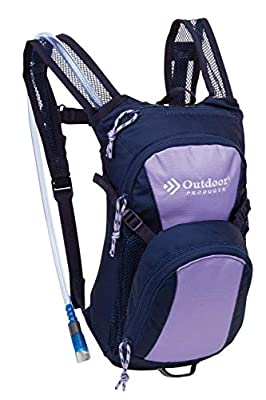 Outdoor Products Tadpole Hydration Day Pak, Violet Tulip