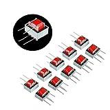 BOJACK EI-14 Trasformatori di isolamento audio ad alta efficienza Impedenza AC 1: 1 600: 600 Ohm (confezione da 10 pezzi)