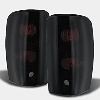 For 00-06 Suburban Taho Yukon Yukon Denali Yukon Yukon XL Black Smoke Tail Lights FOR LIFTGATE MODEL