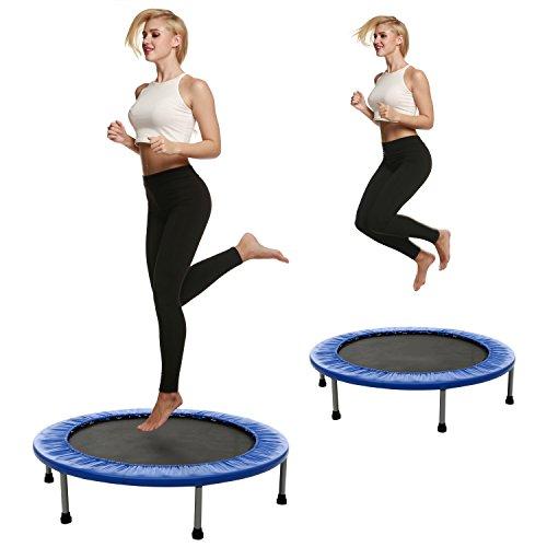 ANCHEER Trampolino Elastico Fitness Trampolino Pieghevole per Bambini, Trampolino per Esercizi per...